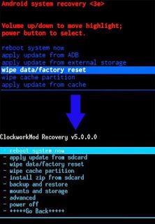 Cara Memasang CWM di Advan S4 tanpa PC