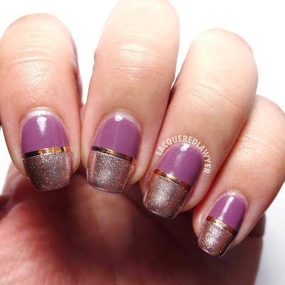Mauve Midas Nails