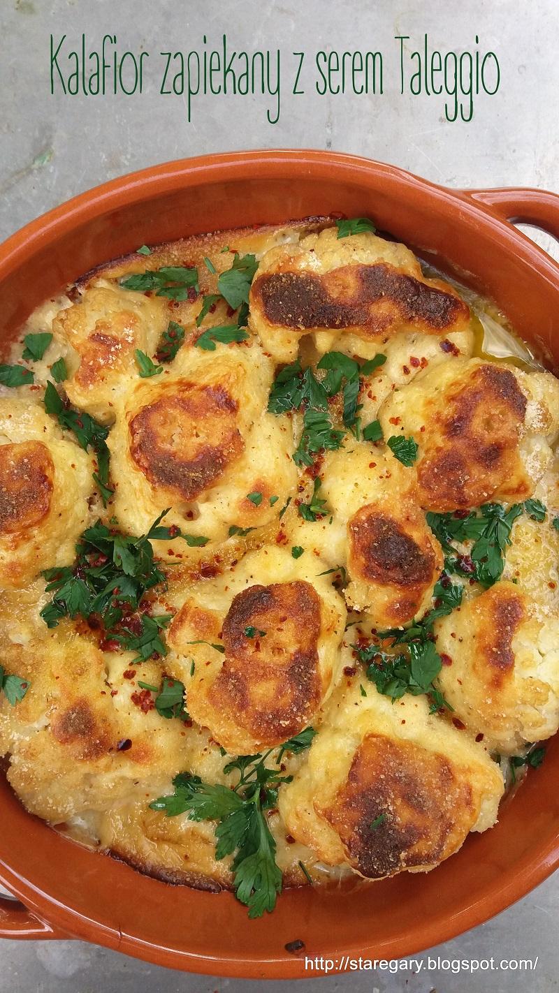 Kalafior zapiekany z serem Taleggio