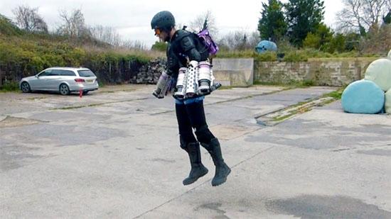 'Homem de Ferro' da vida real - super-traje voador do Iron Man já existe - Img 1