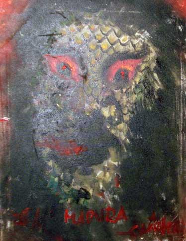 lukisan hantu paling mengerikan dan paling menyeramkan bikin bulu kuduk berdiri