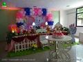 Gata Marie - tema para decoração de festa de aniversário infantil de meninas - mesa temática para ornamentação infantil