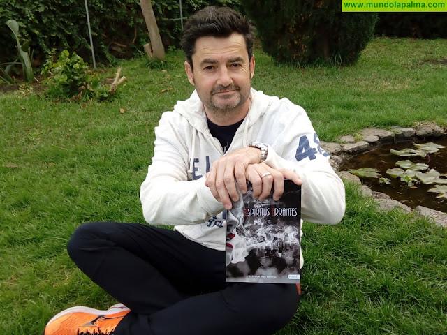 El escritor J. Felipe Díaz Barrios presenta enBreña Alta su novela 'Espíritus errantes'