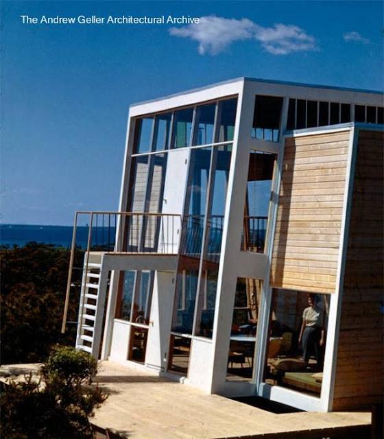 Casa de playa Moderna norteamericana