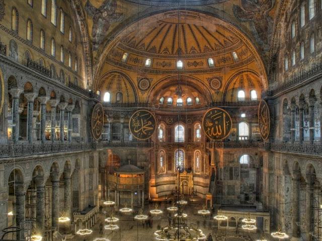 Ακουστική εμπειρία ψαλμών, μέσα στην Αγία Σοφία 700 χρόνια μετά με βίντεο