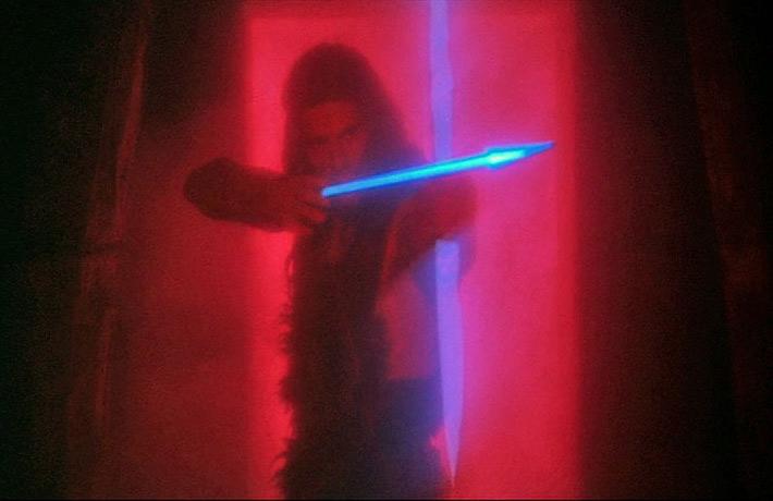 Mace (Jorge Rivero) im finalen Kampf. CONQUEST (Lucio Fulci, 1983)