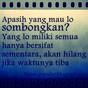 Gambar Foto DP BBM Sindiran buat Teman Penghianat