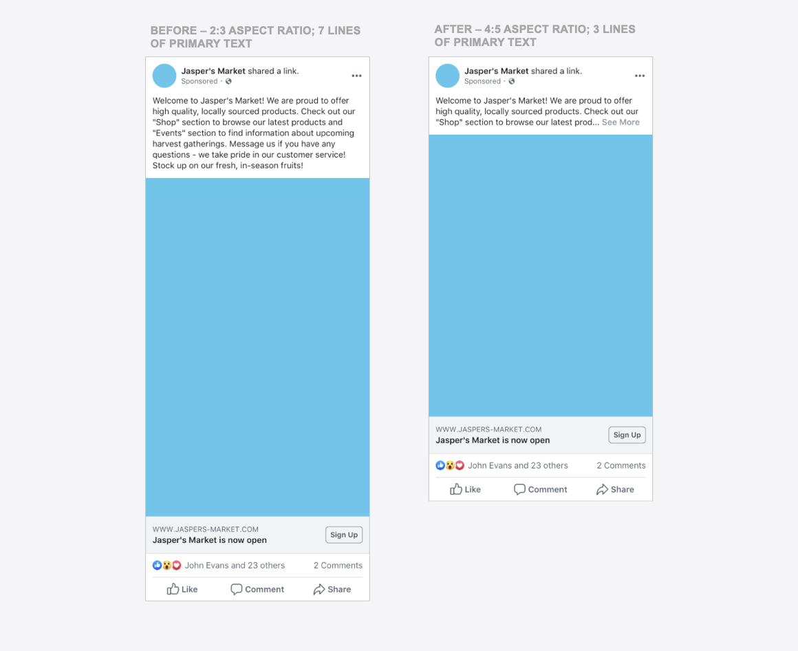 Marketers Heads Up! Facebook is Changing the News Feed Ads Sizes
