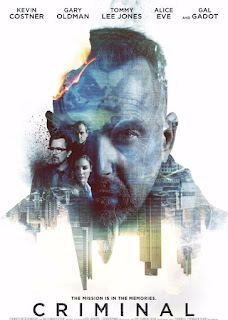 Kevin Costner in CRIMINAL, A Movie Review