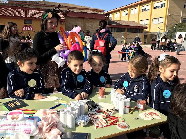 2º 3º De Infantil Visitan Los Talleres Navidenos Del I E S Jose
