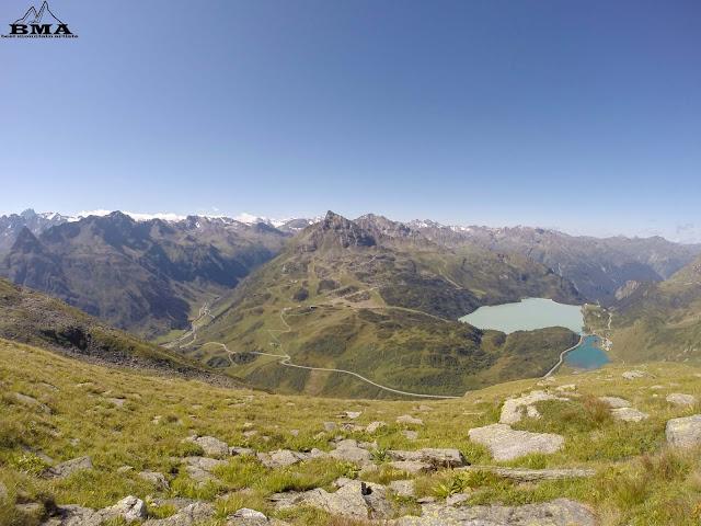 Balunspitze Zeinisjoch und Kopssee - Silvretta Verwall - Hochalpenstrasse - wandern Tirol