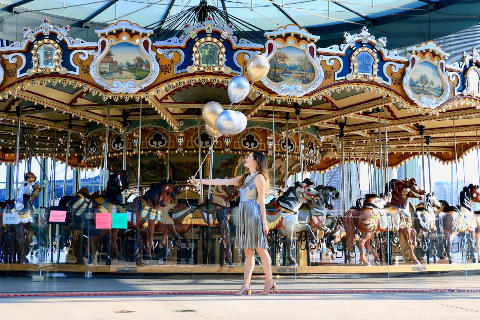 Nyc fashion blogger Kathleen Harper's Jane's Carousel pics