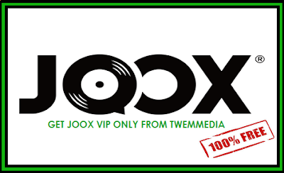 Akun JOOX VIP gratis (vip code, promo code,discount code) JOOX Free VIP