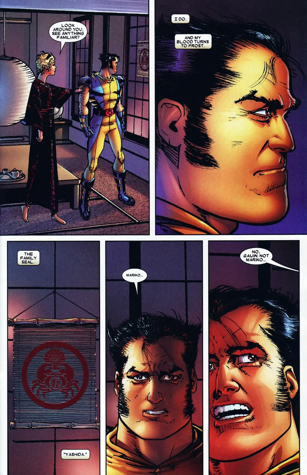 Read online Wolverine (2003) comic -  Issue #60 - 24