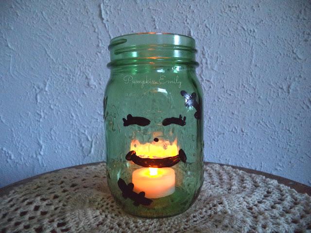 DIY Frankenstein Jar