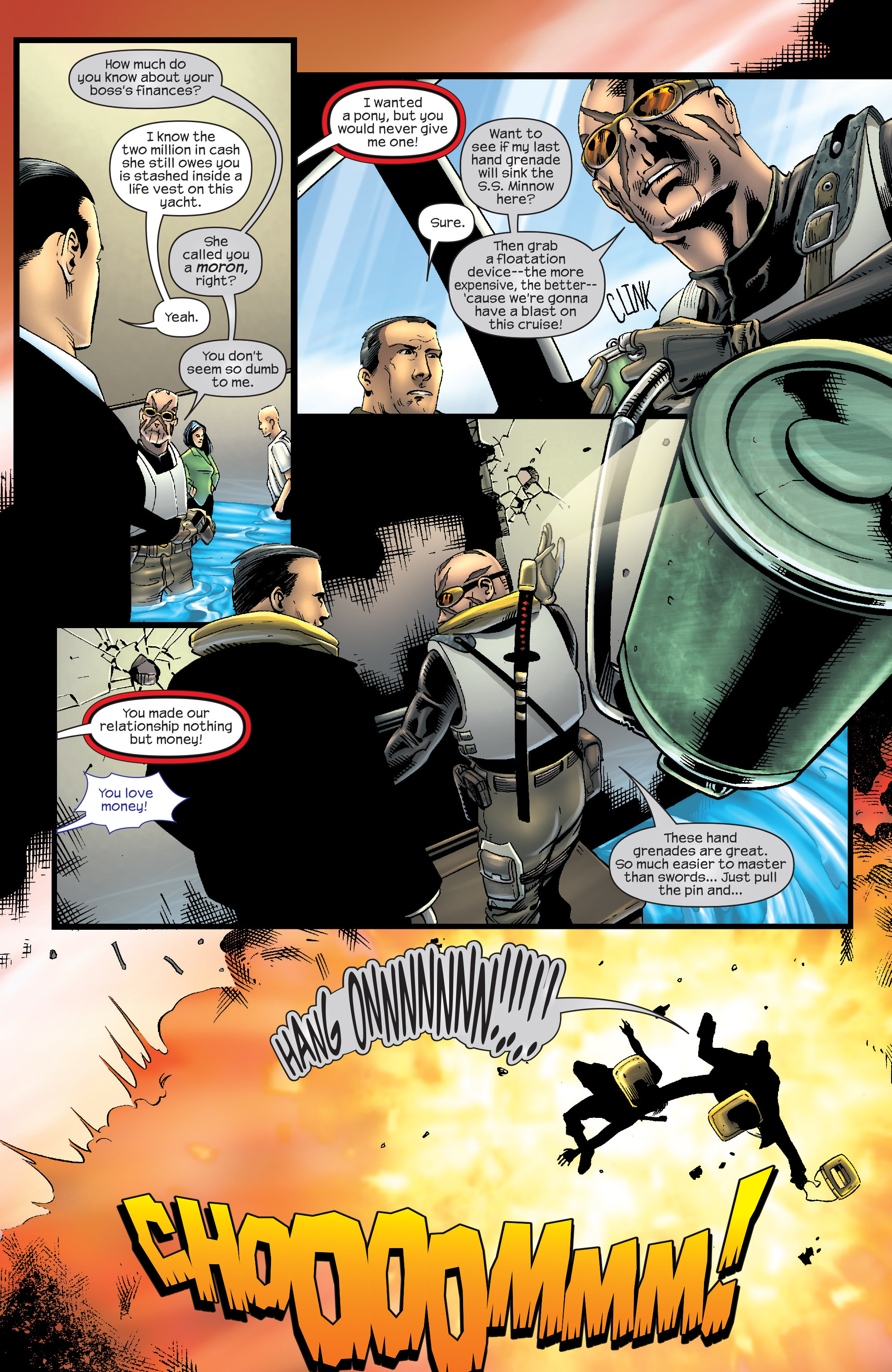 Read online Agent X comic -  Issue #9 - 23