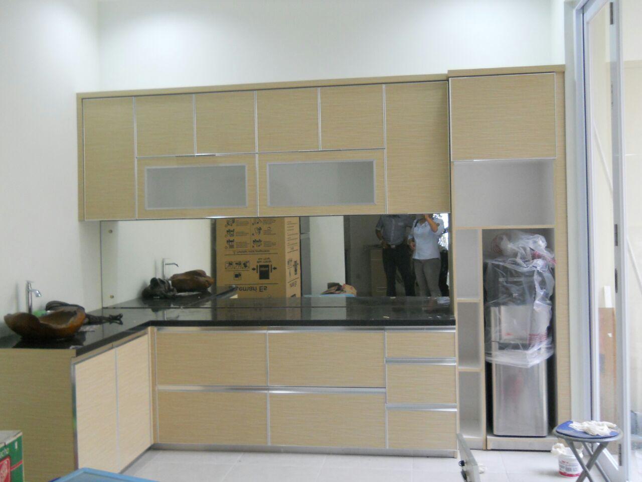 Harga jual kitchen set minimalis pabrik for Kitchen set murah jakarta
