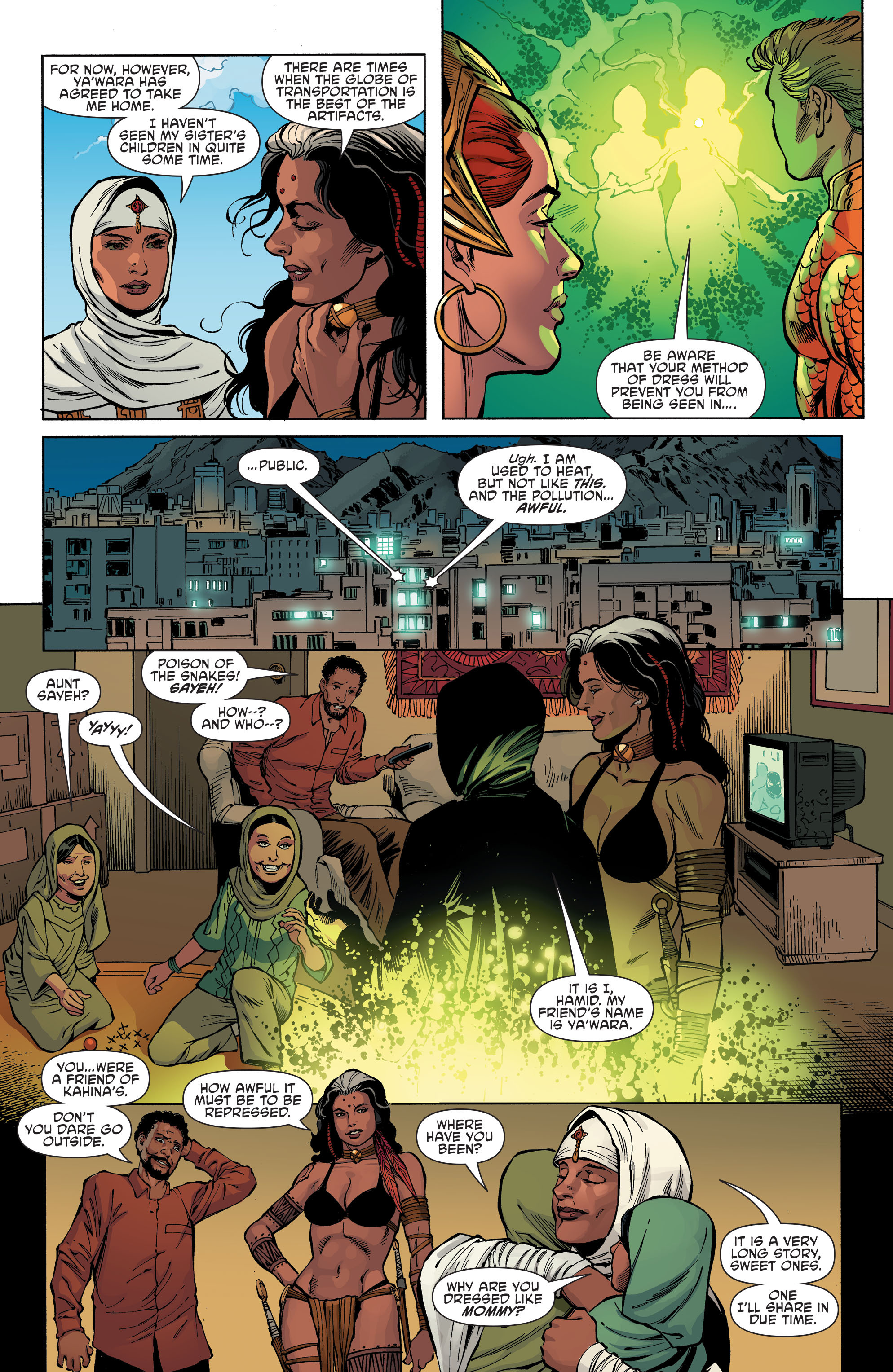 Read online Aquaman and the Others comic -  Issue #6 - 9