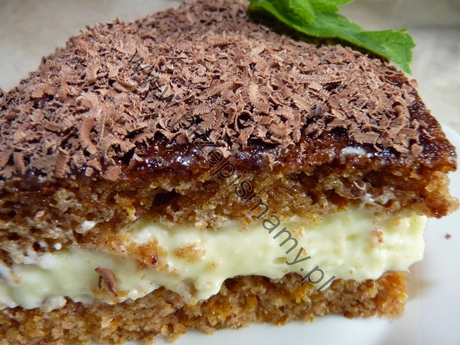 Ciasto z dyni z kremem