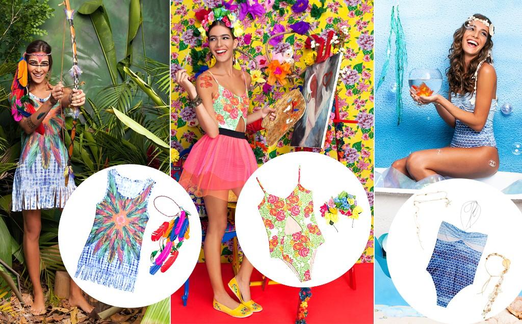 Looks criativos para o carnaval 2017