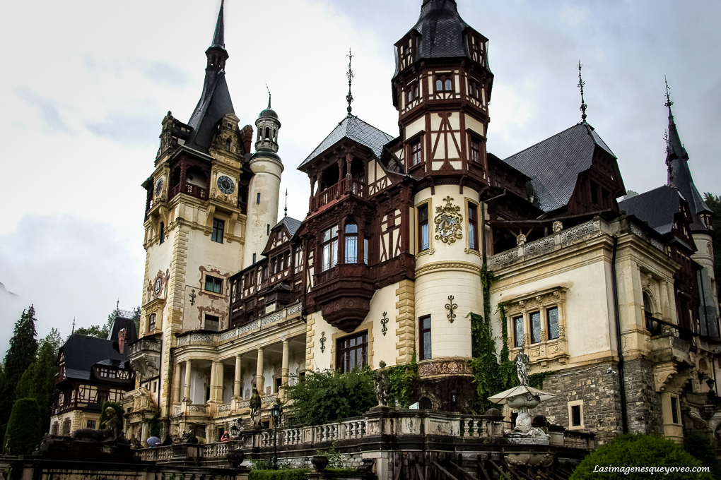 Castillo de Peles, Sinaia, Valaquia, Rumanía