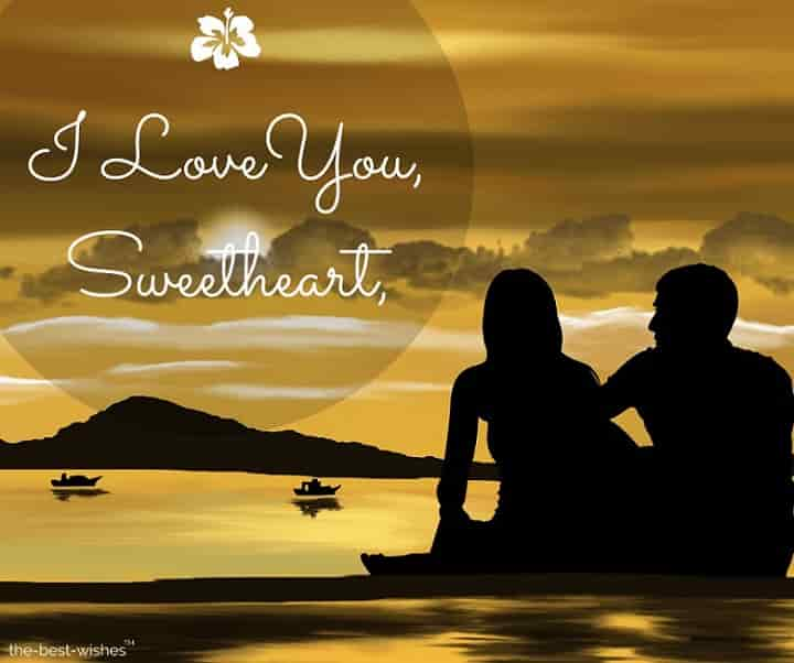 i love you sweetheart dp for whatsapp