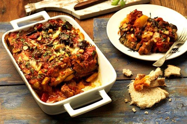 Τι τρώμε σήμερα: Κοκκινιστό μοσχάρι με μελιτζάνες και φέτα !