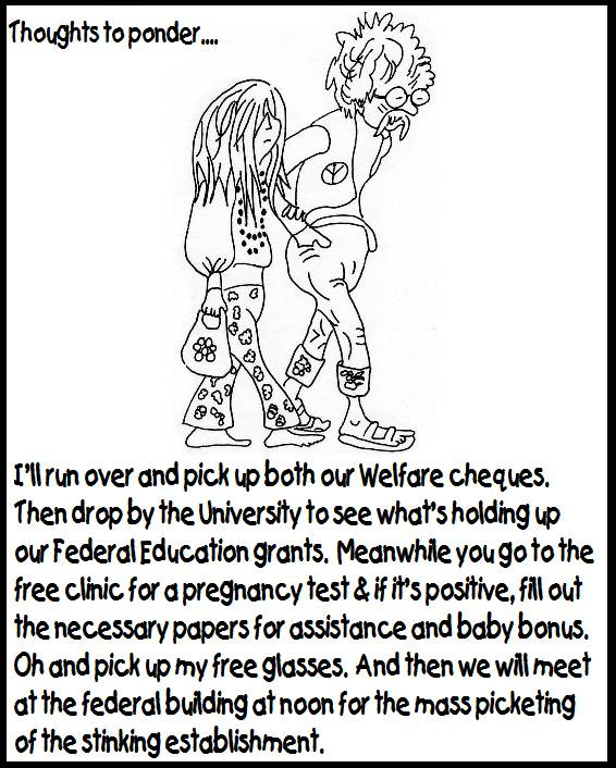 Pictures, jokes, and other stuff: Welfare cartoon