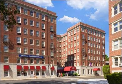 Sheraton Commander Hotel in Cambridge Massachusetts