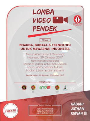 Lomba video pendek duta damai yogyakarta