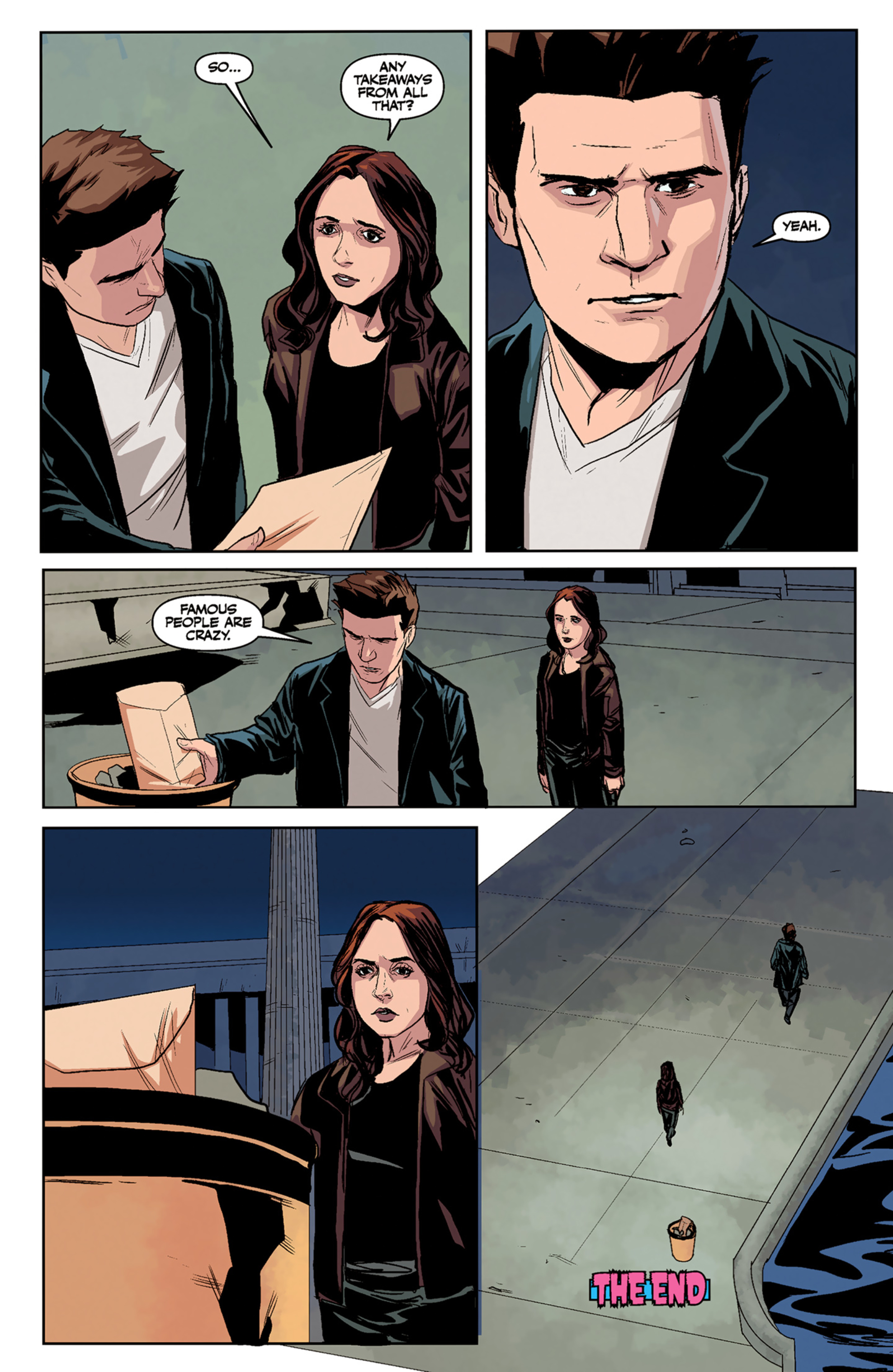 Read online Angel and Faith comic -  Issue #5 - 25