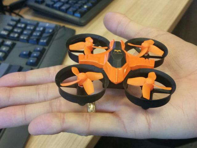 Furibee F36 Mini Drone in hand