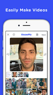 تطبيق مجاني لإنشاء وصناعة الفيديوهات للآيفون والآيباد KnowMe iOS 1.0.8
