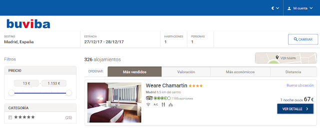 buviba oferta hotel weare chamartin
