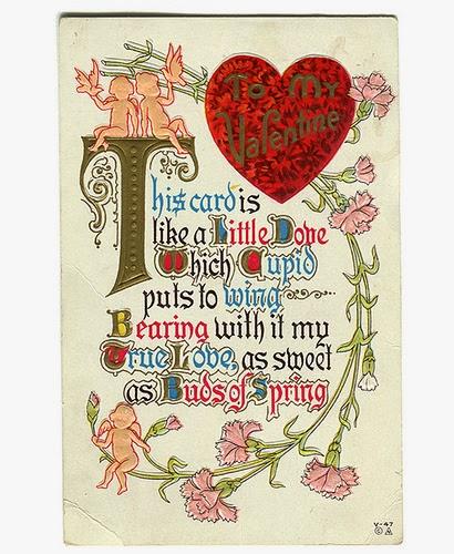 Funny Vintage Valentinsdag kort Vintage Everyday-3663