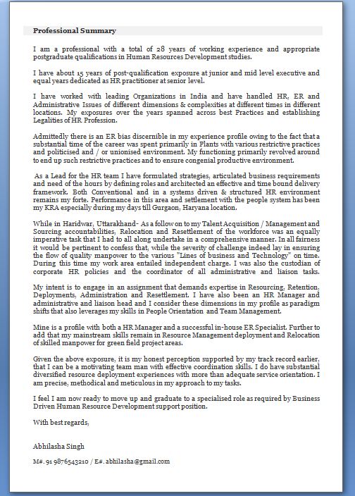 email cover letter format pdf download