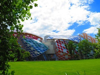 Louis Vuitton Foundation, Paris.