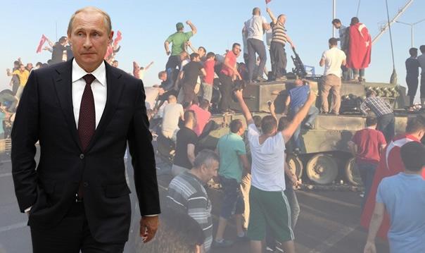 Putin den çarpıcı 15 Temmuz Darbe Girişimi açıklaması