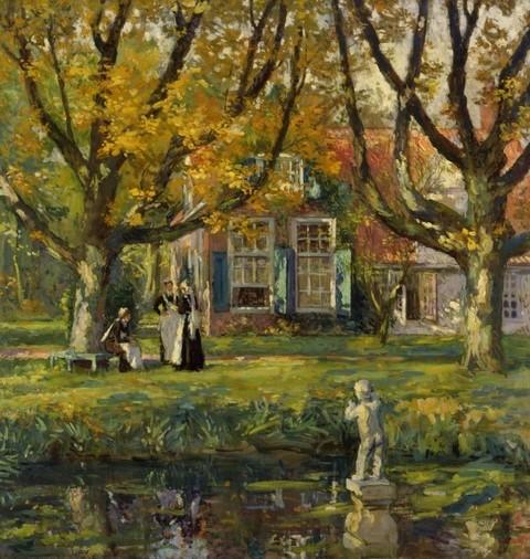 My Garden. Gari Melchers, 1922