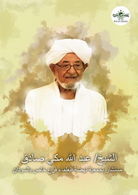Syeikh Abdullah Makki Shodiq Muhammad, Mustasyar PCINU Sudan