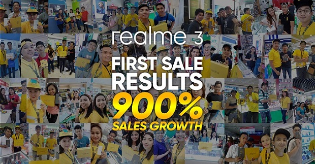 Realme 3 first offline sale surge 900% growth over brand's first in-store sale