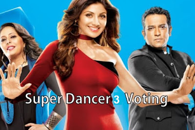 super dancer vote