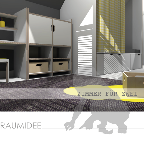 kinderzimmerideen kinderzimmeridee ein raum mit dachschr gen. Black Bedroom Furniture Sets. Home Design Ideas