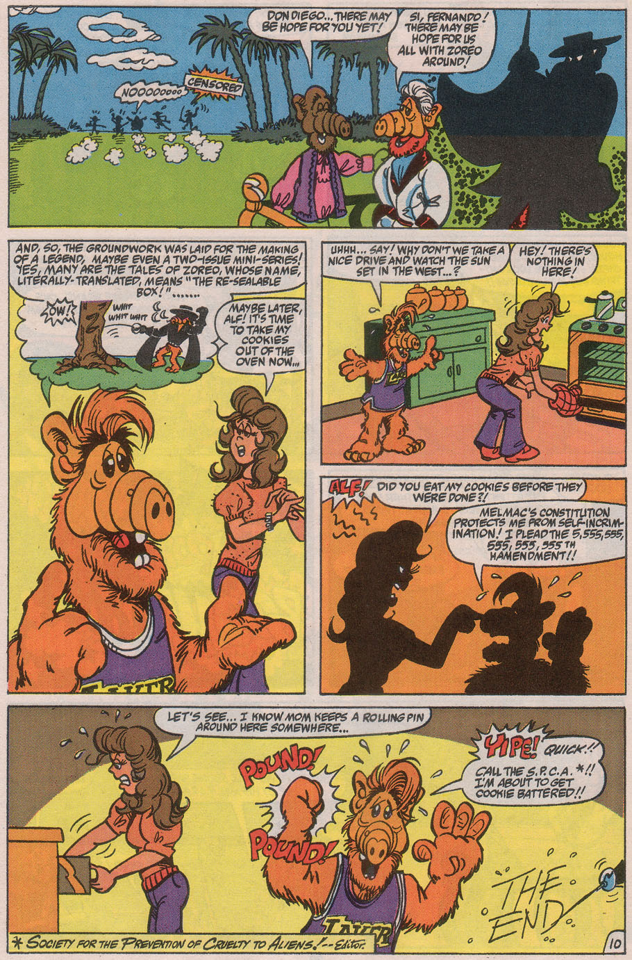 Read online ALF comic -  Issue #40 - 32