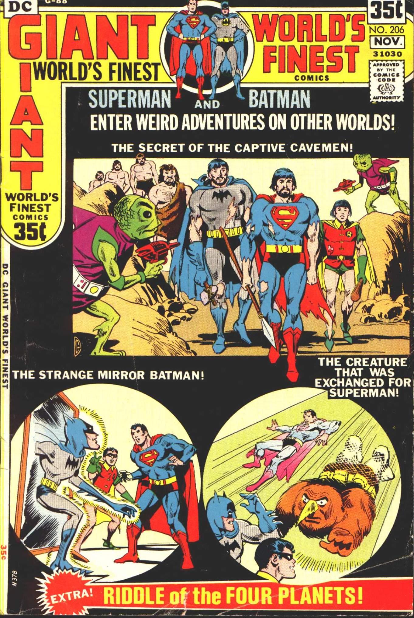 Read online World's Finest Comics comic -  Issue #206 - 1