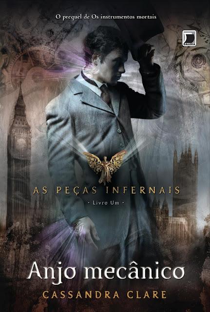 """News: Divulgada capa do livro """"Anjo Mecanico"""" de Cassandra Clare. 17"""