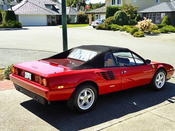 1988 ferrari mondial cabriolet auto restorationice. Black Bedroom Furniture Sets. Home Design Ideas