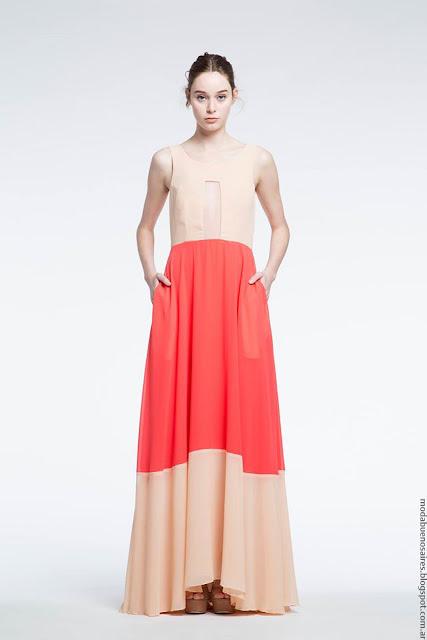 Vestidos de fiesta Natalia Antolin moda mujer. Moda 2017.