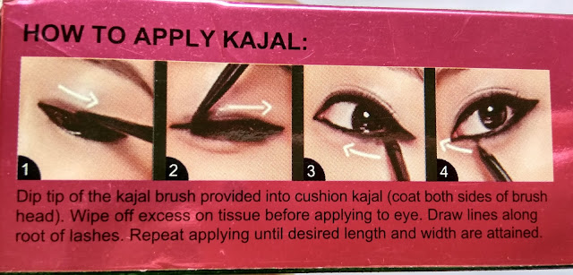 HalfnHalf Cushion Kajal Review