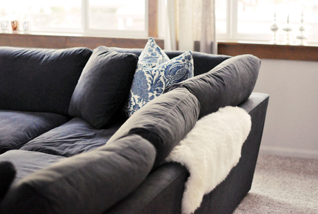 new sofa sectional, barclay butera pillows